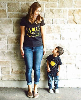 Big & Small Matching Tees - The Shaka Company
