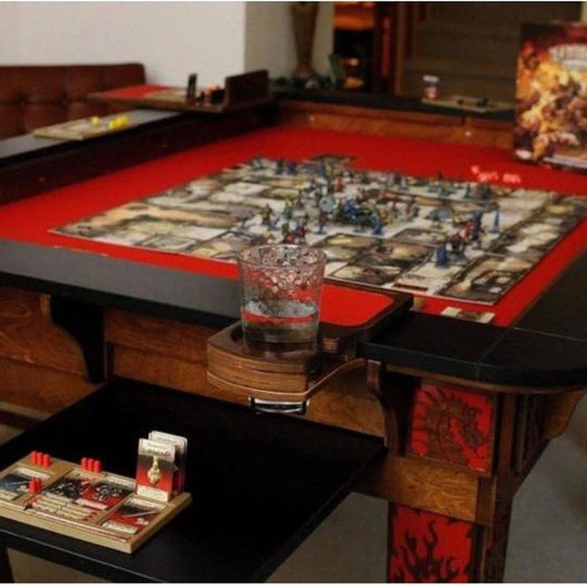 Table Of Ultimate Gaming Gaming Tables For DD Warhammer Etc Simple Wooden Gaming Table