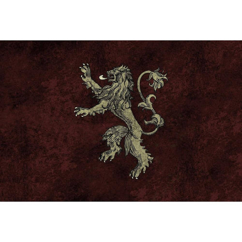 Table Drop In Playing Mats - Fits All Tables Table of Ultimate Gaming 2x4 Game of Thrones Lannister
