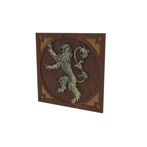 Game of Thrones - House Lannister Chair Decoration - Set of 2