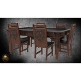 Medieval Castle & Knights Decoration 2 Pack for Chairs - Elite Series