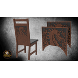 Dragons & Flames Decoration 2 Pack  for Chairs - Elite Series