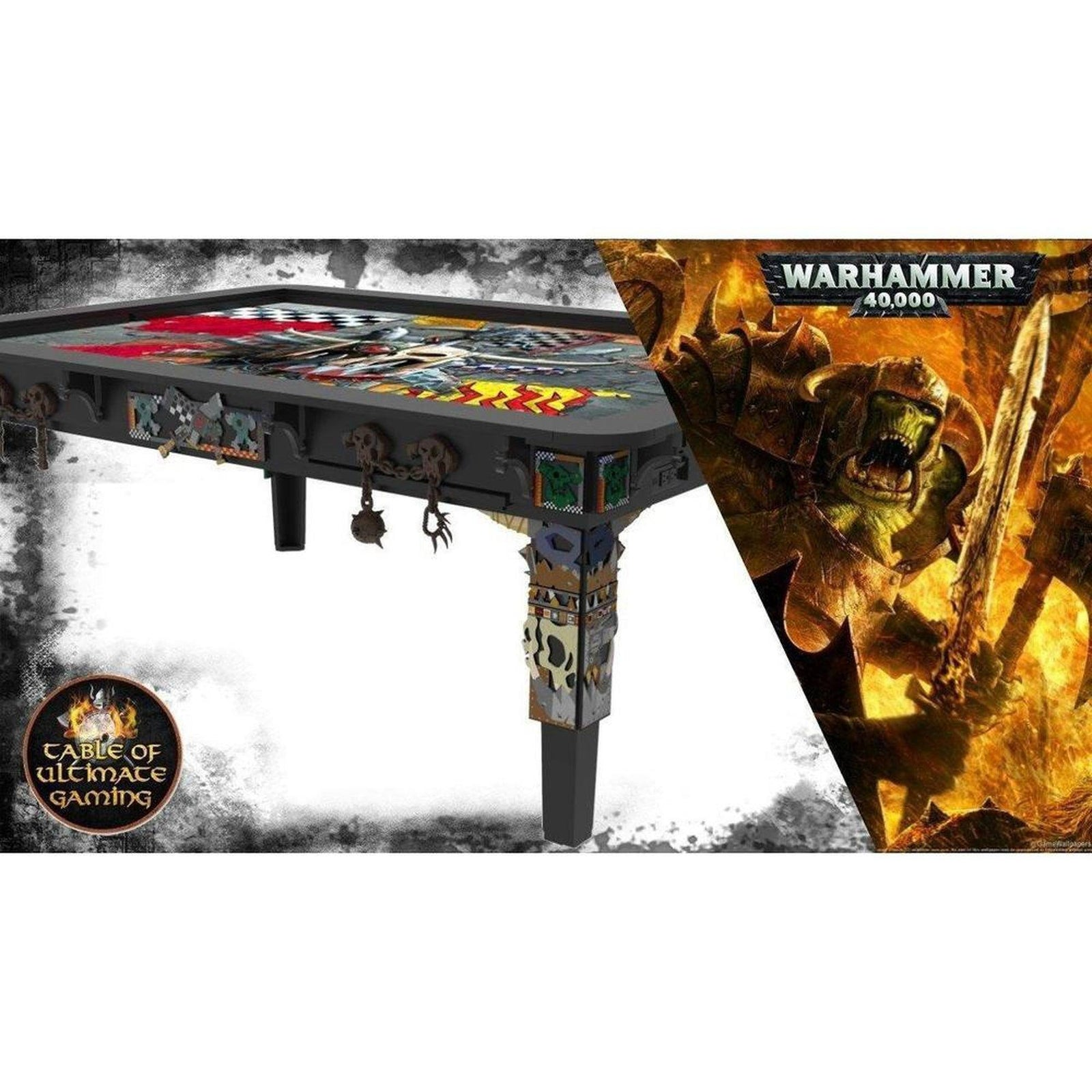 Warhammer 40,000 - Decoration Pack - Orks WAAAG! - Table of Ultimate Gaming