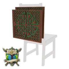 Celtic Knot Decoration 2 Pack for Chairs - Elite Series-Table of Ultimate Gaming