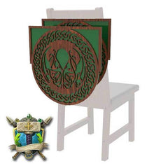 Depths of Cthulhu Decoration 2 Pack for Chairs - Elite Series-Table of Ultimate Gaming