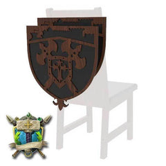 Medieval Castle & Knights Decoration 2 Pack for Chairs - Elite Series-Table of Ultimate Gaming