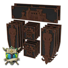Medieval Castle & Knights Decoration - Elite Series-Table of Ultimate Gaming