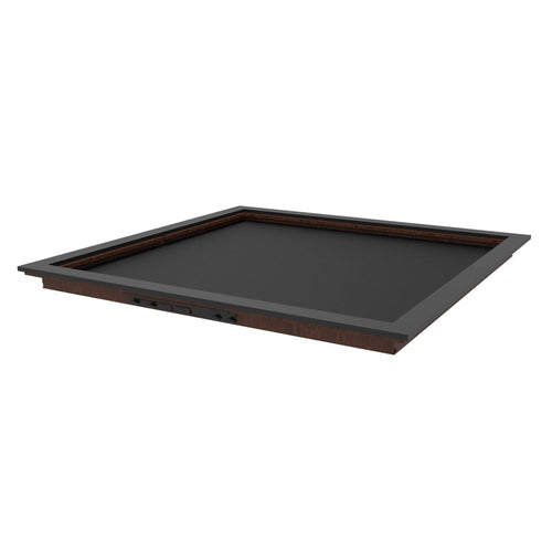 GameChanger Series -- Toppers Table of Ultimate Gaming 4.4 Walnut/Black Topper