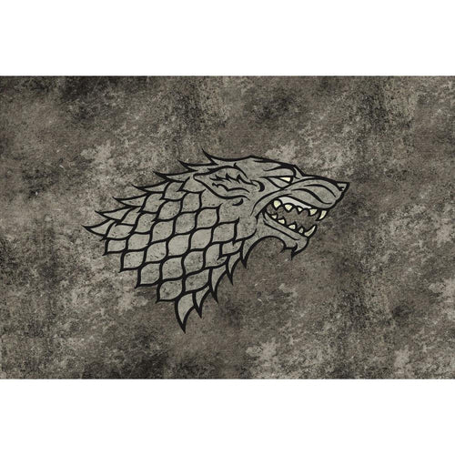 Table Drop In Playing Mats - Fits All Tables Table of Ultimate Gaming 4x6 Game of Thrones Stark