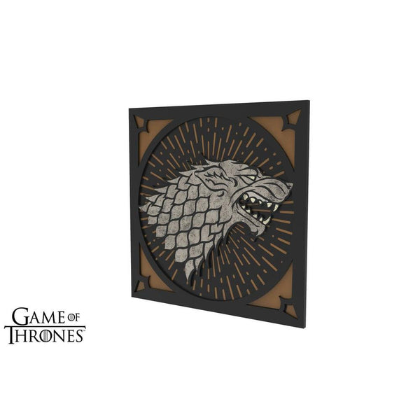 Game of Thrones - House Stark Chair Decoration - Set of 2