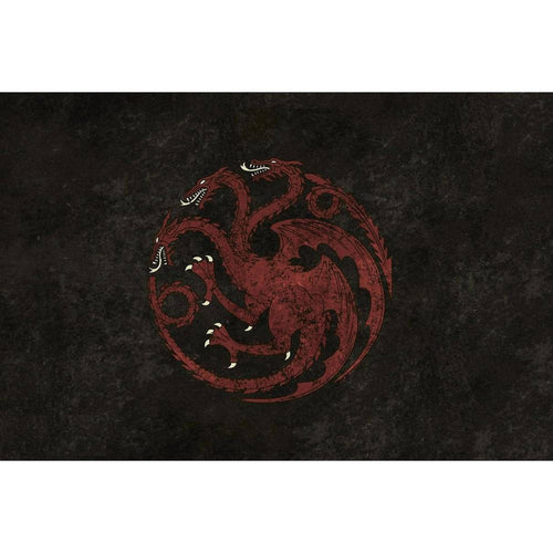 Table Drop In Playing Mats - Fits All Tables Table of Ultimate Gaming 4x6 Game of Thrones Targaryen