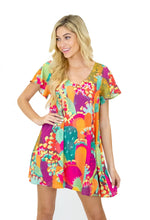 CACTUS CANYON FLUTTER SLEEVE DRESS