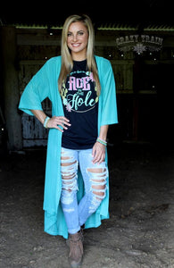 TWISTED TEAL DUSTER