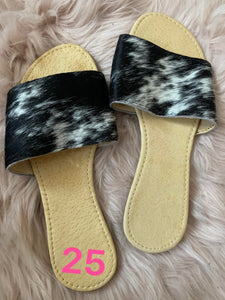 **SAMPLE** COWHIDE SLIDE