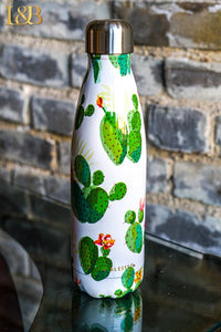 GREEN CACTUS WATER BOTTLE