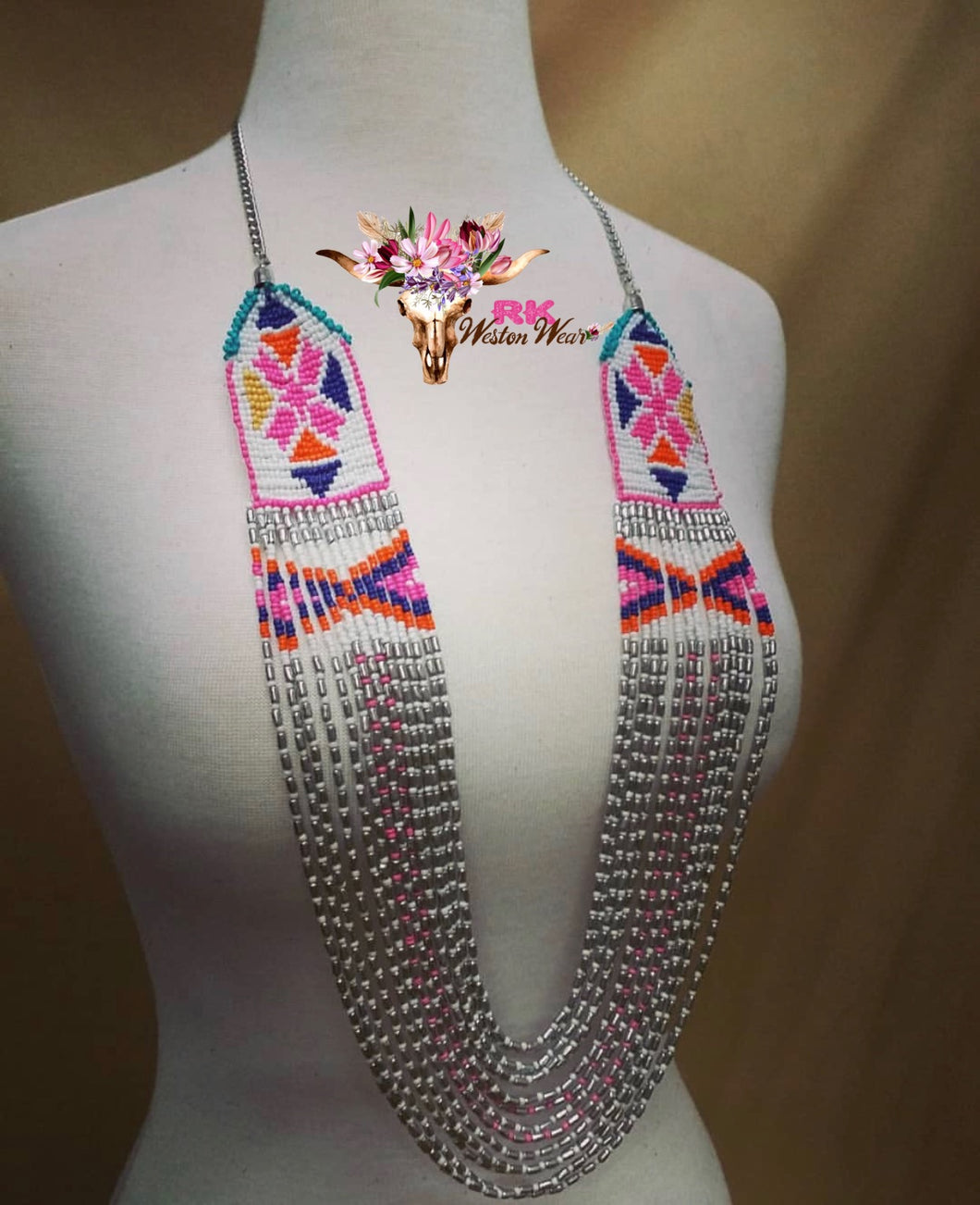 Summer Fling Beaded Necklace