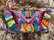 PINK TRIBAL PRINTED CLUTCH