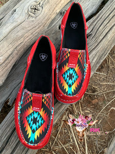 RED AZTEC ARIAT CRUISERS