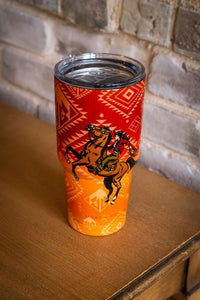 AZTEC BRONC TRAVEL MUG