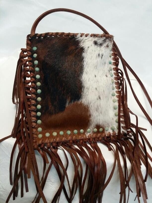 KURTMEN COWHIDE CROSSBODY