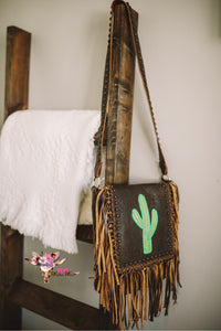 KURTMEN SAGUARO CACTUS CROSSBODY