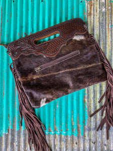 TOOLED COWHIDE CLUTCH (7)