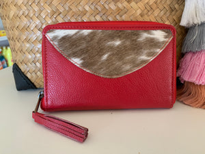 SMALL COWHIDE WALLET
