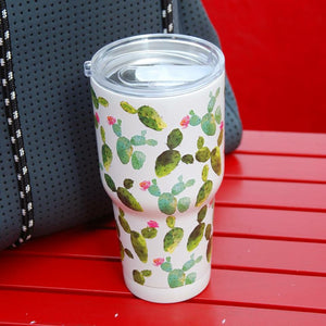 CACTUS PRINT 30oz TRAVEL MUG