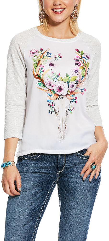 ARIAT FLOWER CROWN TOP