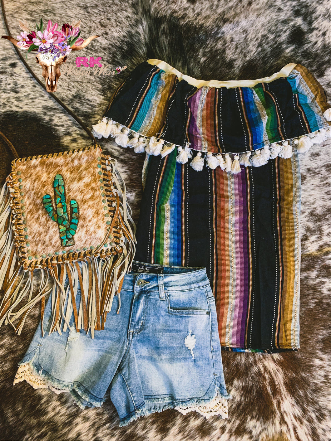OFF SHOULDER SERAPE TOP