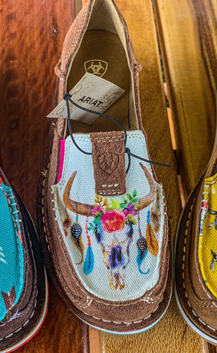 Ariat Women's Cruiser Saddle Tan with Floral Print
