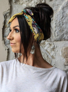 KNOT TOP HEADBANDS *7 COLOURS*