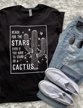 REACH FOR THE STARS 🌟 STAND ON CACTUS 🌵