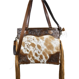 TOOLED HANDBAG (4)