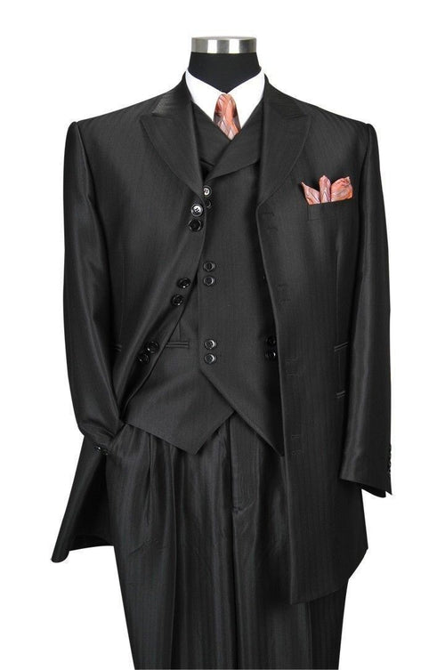 Men Suit 5264-Black