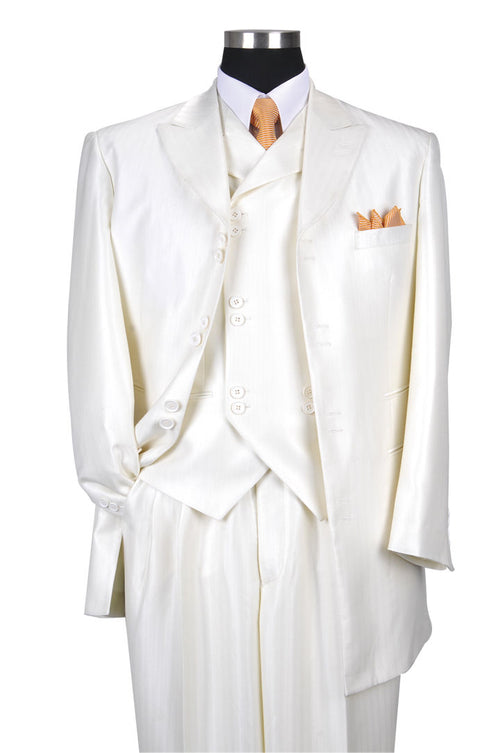 Men Suit 5264-Cream
