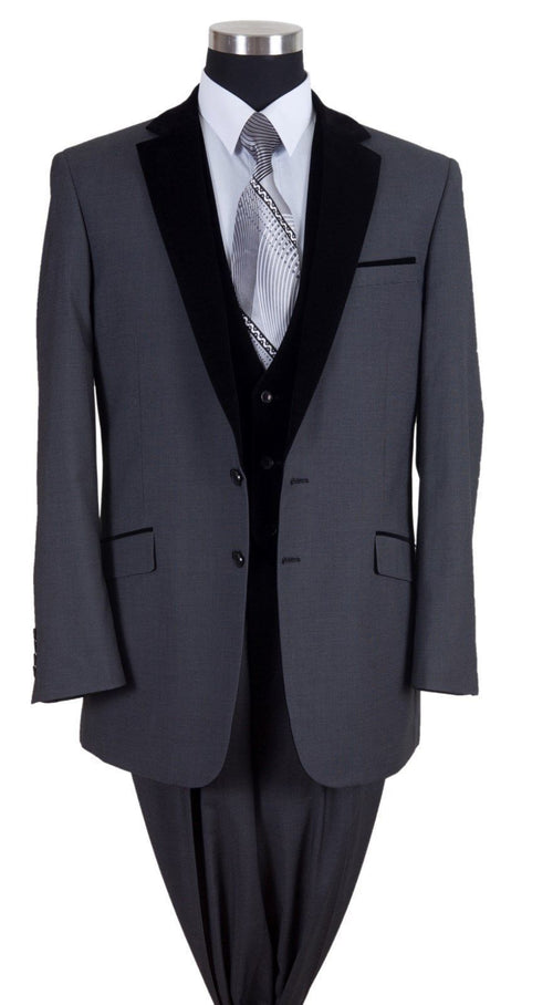 Men Suit 57024-Black