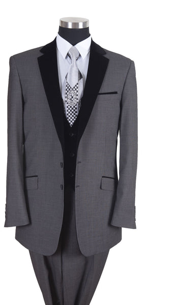 Men Suit 57024-Grey
