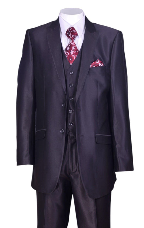 Men Suit 5202V2-Black