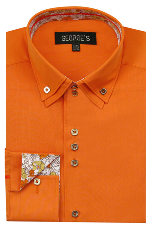 Men Shirt AH610-Orange