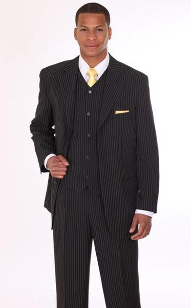 Men Suit 802V-Black