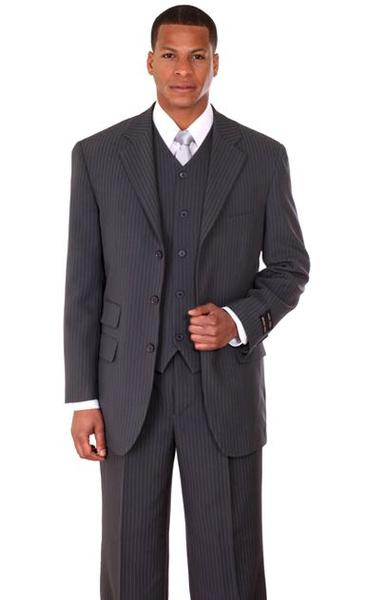 Men Suit 802V-Grey