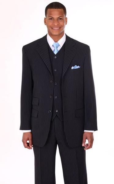 Men Suit 802V-Navy