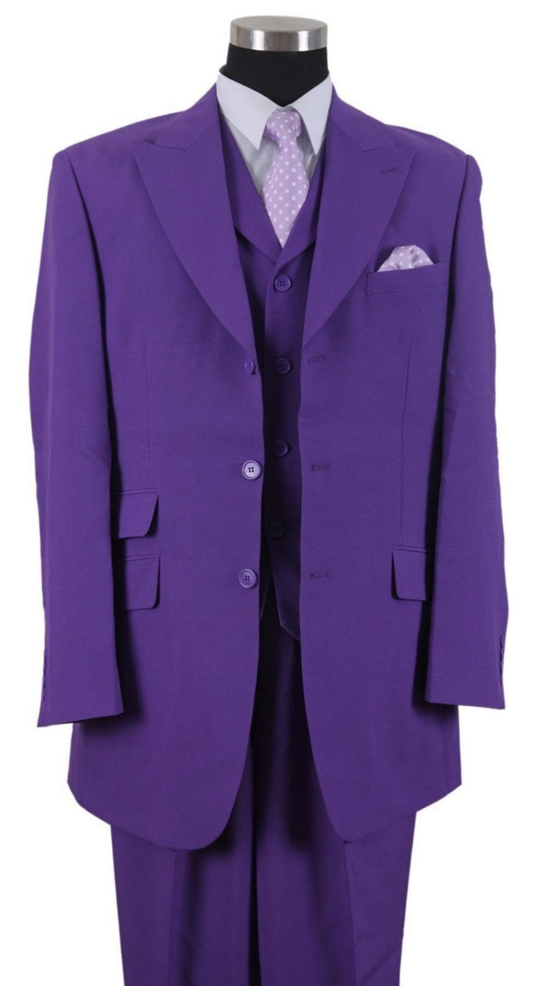 Milano Moda Suit 905V-Purple - Church Suits For Less