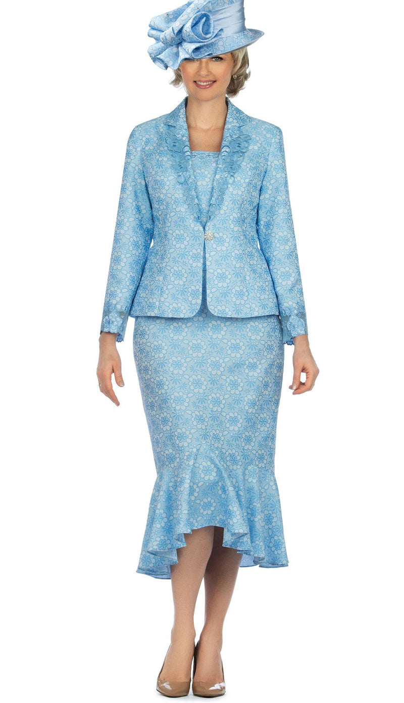 Giovanna Suit G1143-Blue - Church Suits For Less