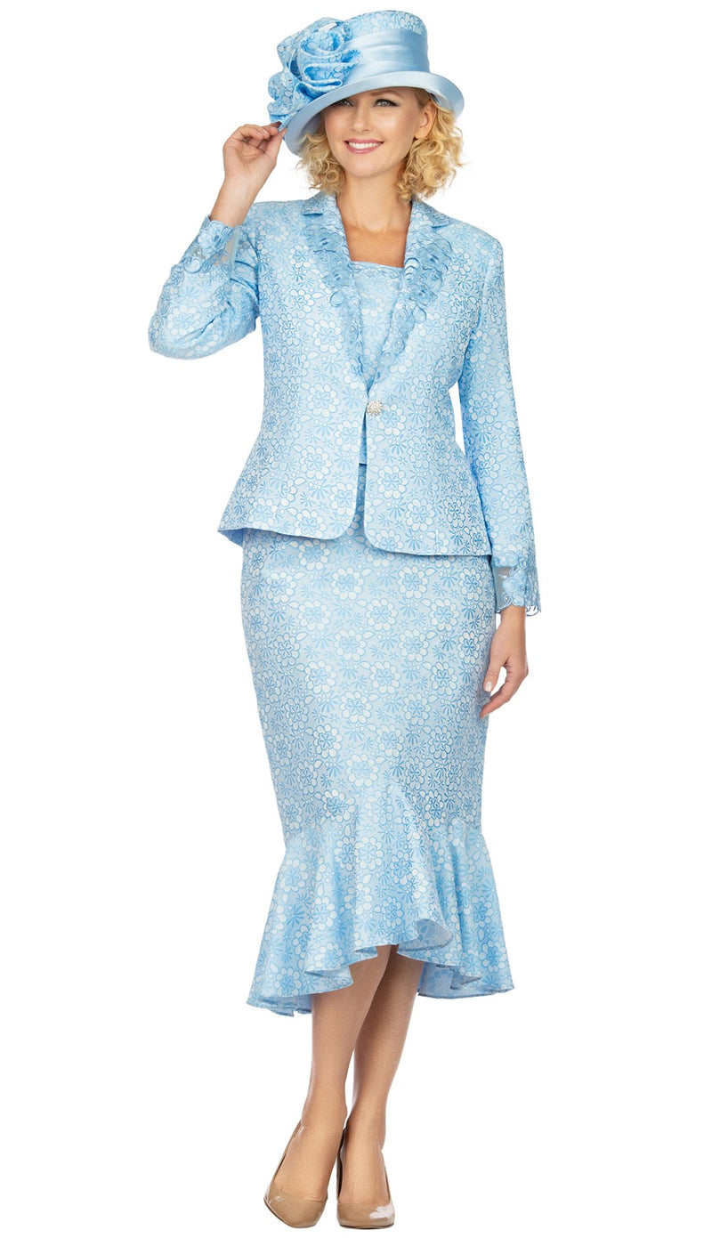 Giovanna Suit G1143-Blue