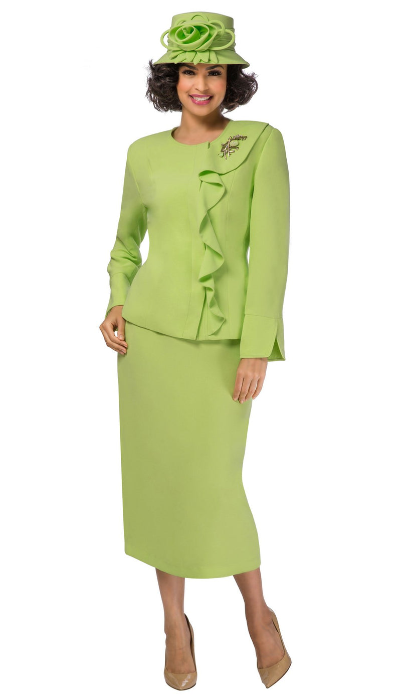 Giovanna Suit 0931-Lime - Church Suits For Less