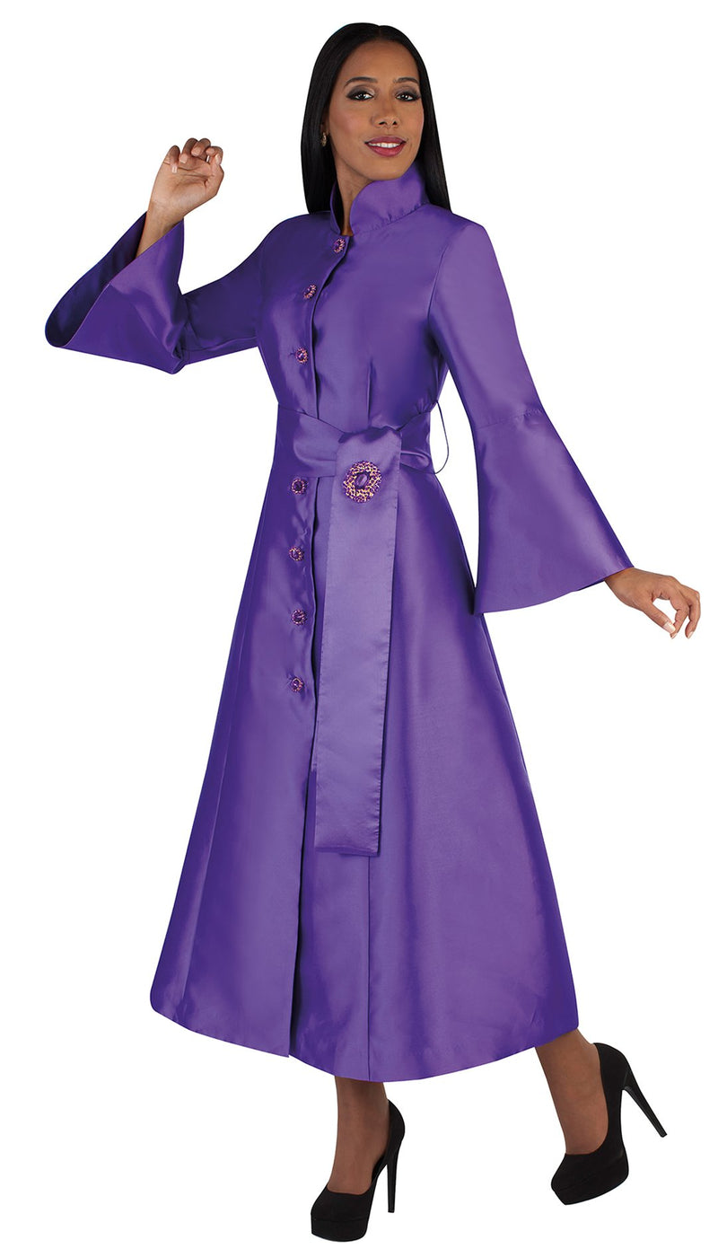 Tally Taylor Church Robe 4732-Purple