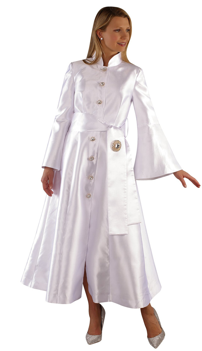 Tally Taylor Church Robe 4732-White