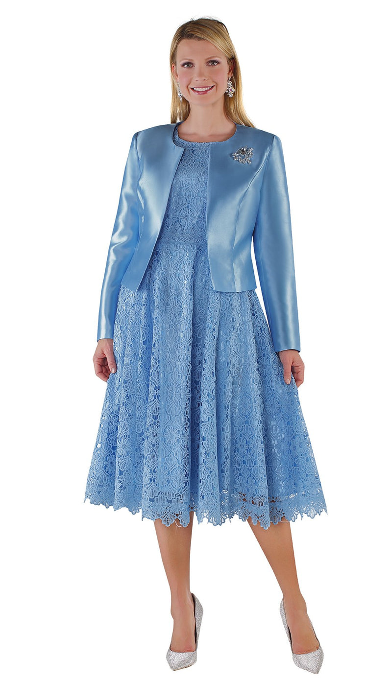 Tally Taylor Dress 4529-Baby Blue - Church Suits For Less